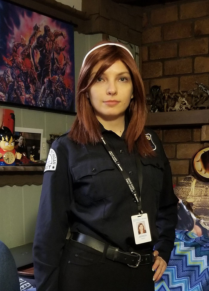 Jessica Safron Musuem Security Guard
