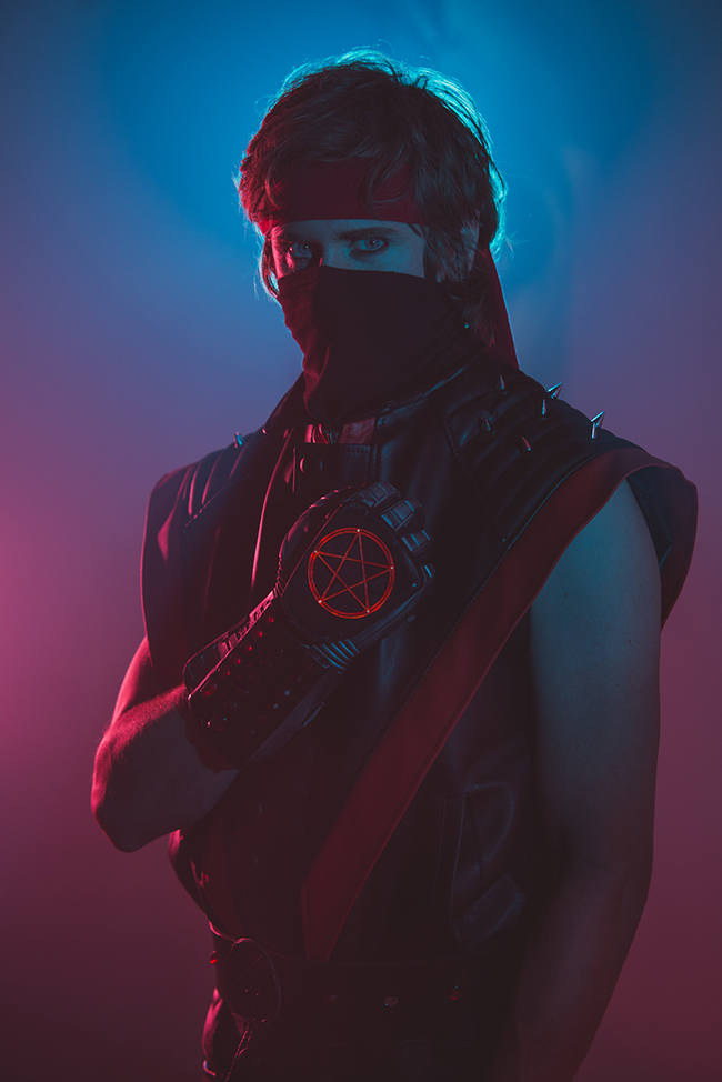 Live-Action Satan Ninja 198X Promo set photo