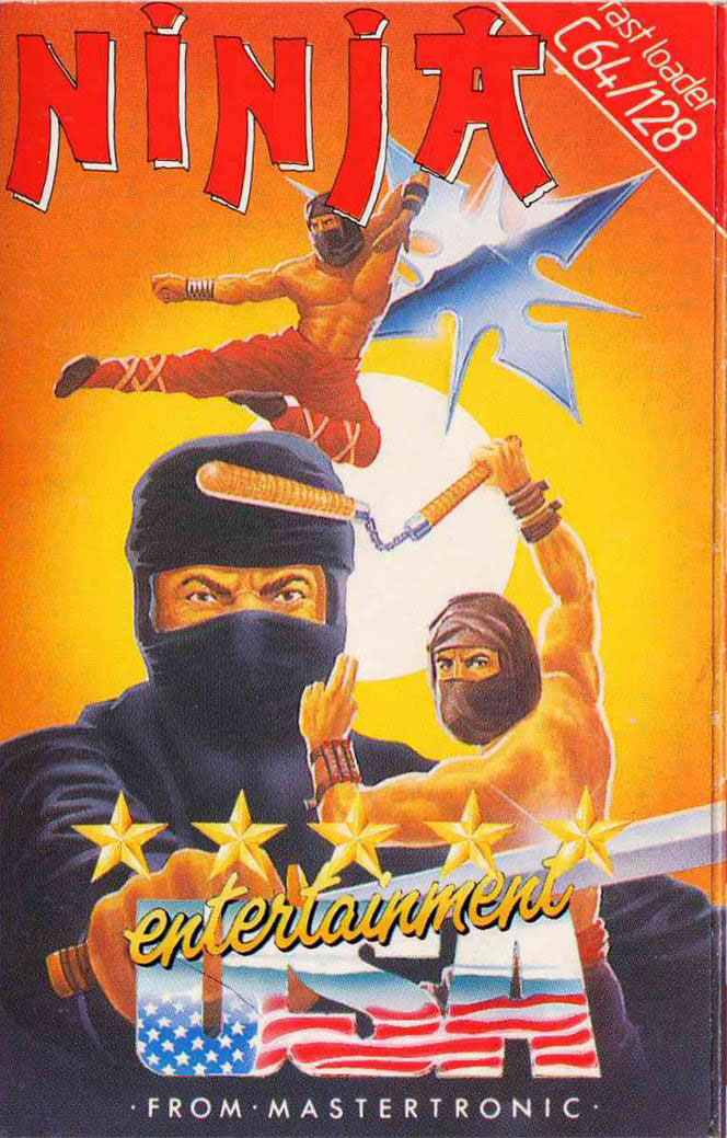 Ninja Mastertronic C64 1986 Video Game