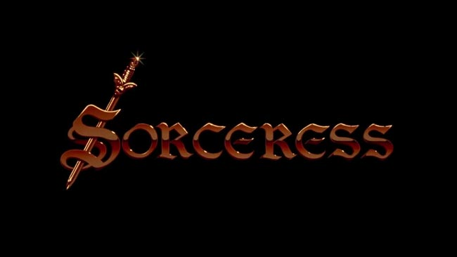 Sorceress 1982 Title Screen