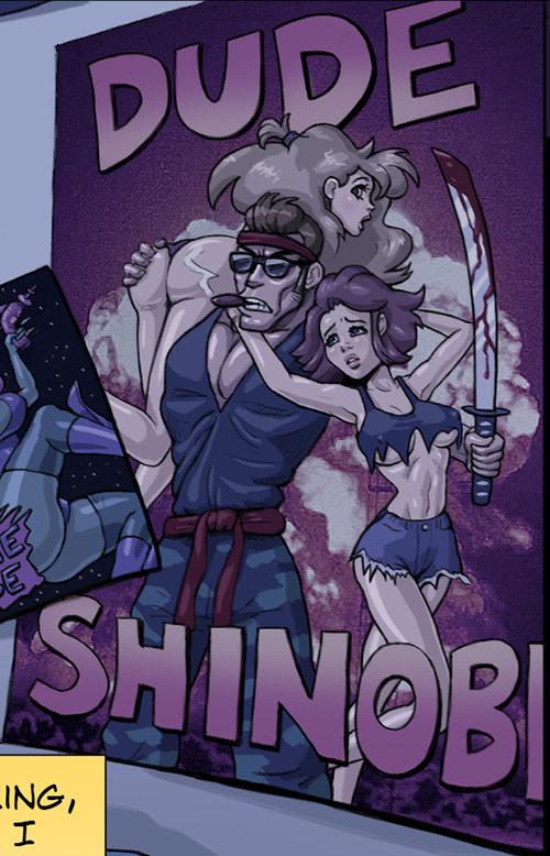 Dude Shinobi Poster