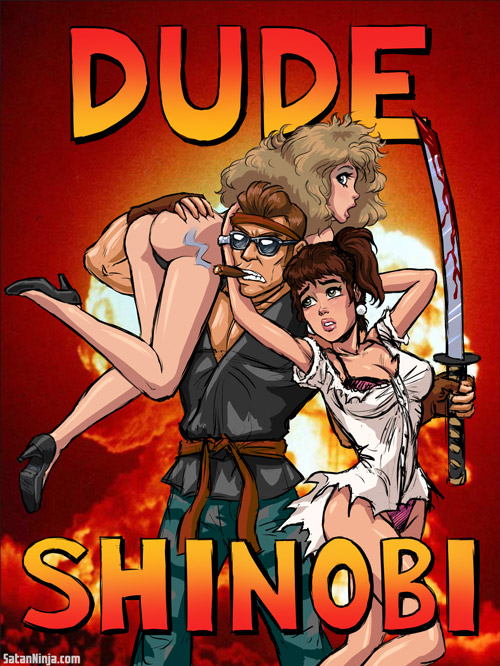 Dude Shinobi Poster Updated