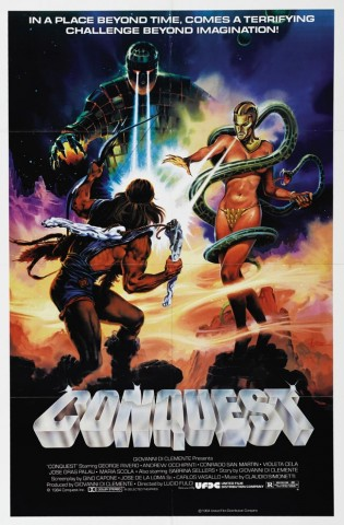 Conquest 1983 Poster