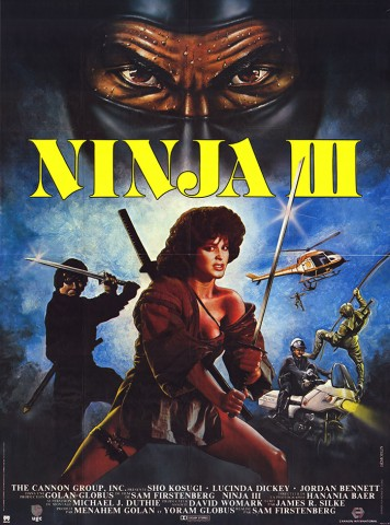 Ninja III: The Domination 1984 Poster