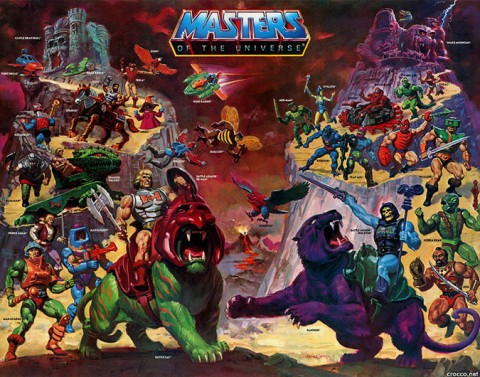 He-Man Masters of the Universe Toys