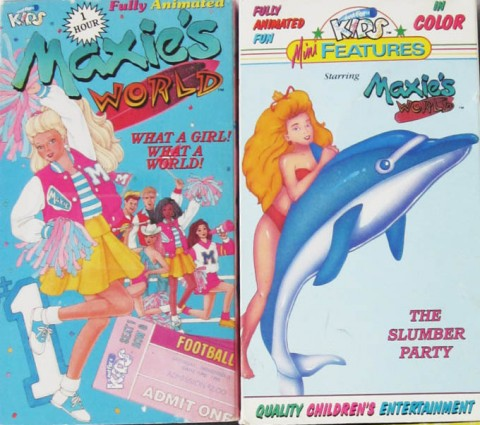 Maxie's World 1987 VHS Covers