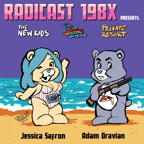Radicast 198X The New Kids The Care Bears Movie Private Resort review
